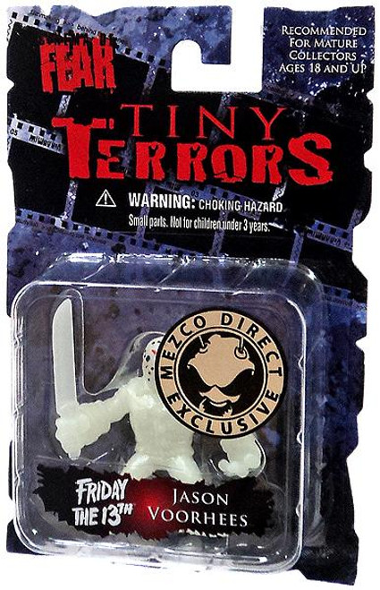 A Nightmare on Elm Street Cinema of Fear Tiny Terrors Series 1 Jason Voorhees Exclusive Mini Figure [Glow-in-the-Dark]