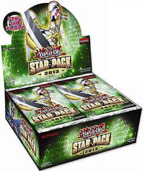 YuGiOh Star Pack 2013 (1st Edition) Booster Box [50 Packs] [Sealed]