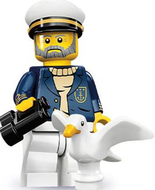 LEGO Minifigures Series 10 Sea Captain Minifigure [Loose]