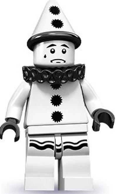 LEGO Minifigures Series 10 Sad Clown Minifigure [Loose]