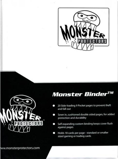 Card Supplies Matte White 9-Pocket Binder