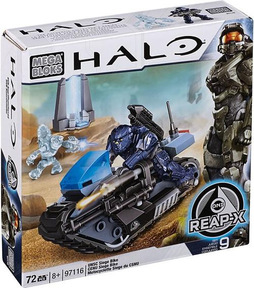 Mega Bloks Halo UNSC Siege Bike Set #97116
