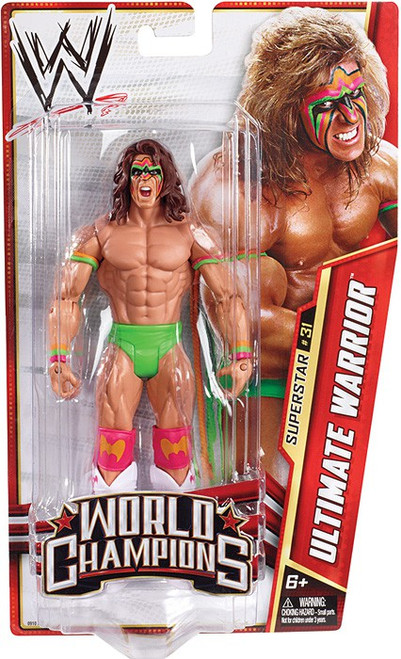 WWE Wrestling Series 29 Ultimate Warrior Action Figure #31