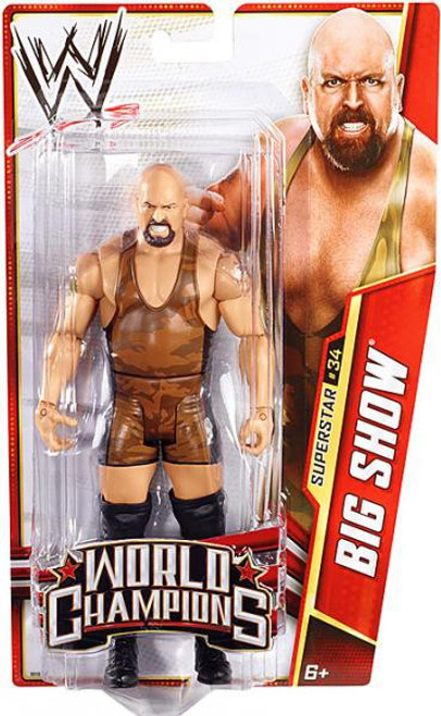 WWE Wrestling Series 29 Big Show Action Figure #34