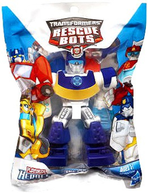 Transformers Rescue Bots Playskool Heroes Chase The Police-Bot Action Figure [Bagged]