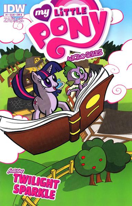 My Little Pony Micro-Series Featuring Twilight Sparkle Comic Book #1 [Cover B]