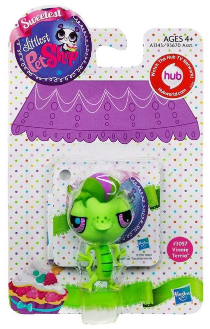 Littlest Pet Shop Sweetest Vinnie Terrio Figure #3057