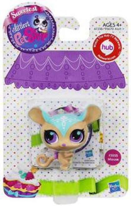 Littlest Pet Shop Sweetest Mouse Figure #3055