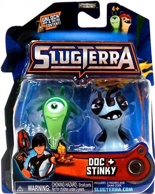 Slugterra Series 1 Doc & Stinky Mini Figure 2-Pack