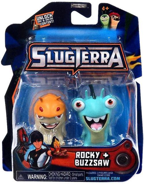 Slugterra Series 1 Rocky & Buzzsaw Mini Figure 2-Pack