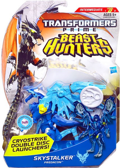 Transformers Prime Beast Hunters Skystalker Deluxe Action Figure