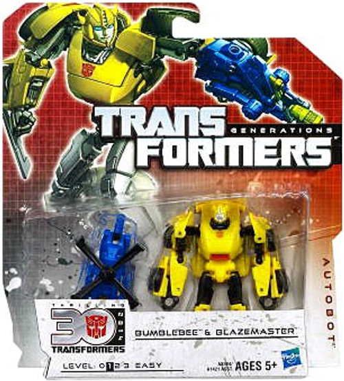 Transformers Generations 30th Anniversary Legends Bumblebee & Blazemaster Legends Action Figure 2-Pack