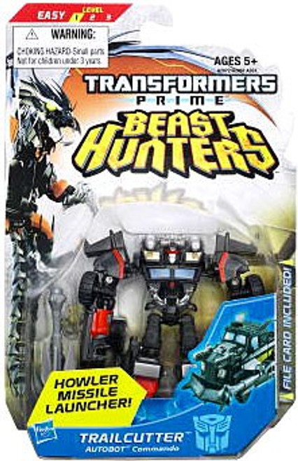 Transformers Prime Beast Hunters Commander Trailcutter Commander Action Figure