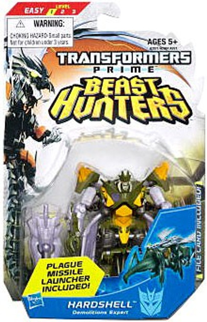Transformers Prime Beast Hunters Commander Hardshell Commander Action Figure