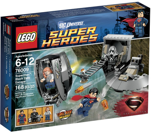 LEGO DC Universe Super Heroes Superman: Black Zero Escape Set #76009