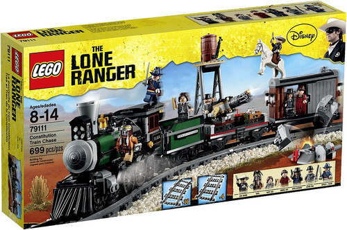 LEGO The Lone Ranger Constitution Train Chase Set #79111