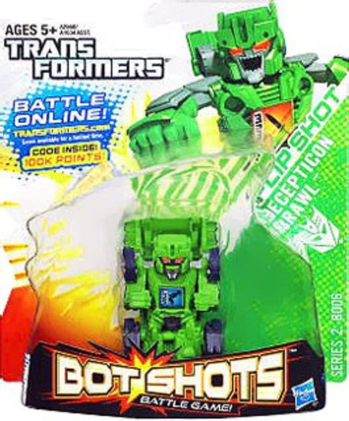 Transformers Bot Shots Battle Game Series 2 Flip Shot Brawl Action Figure