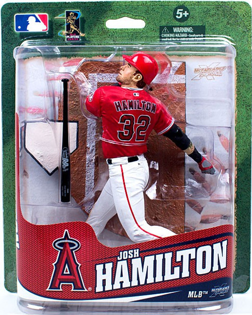 McFarlane Toys MLB Anaheim Angels Sports Picks Exclusive Josh Hamilton Exclusive Action Figure