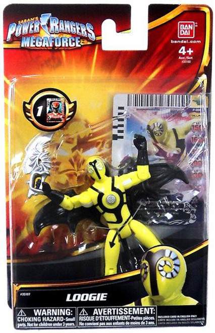 Power Rangers Megaforce Loogie Action Figure