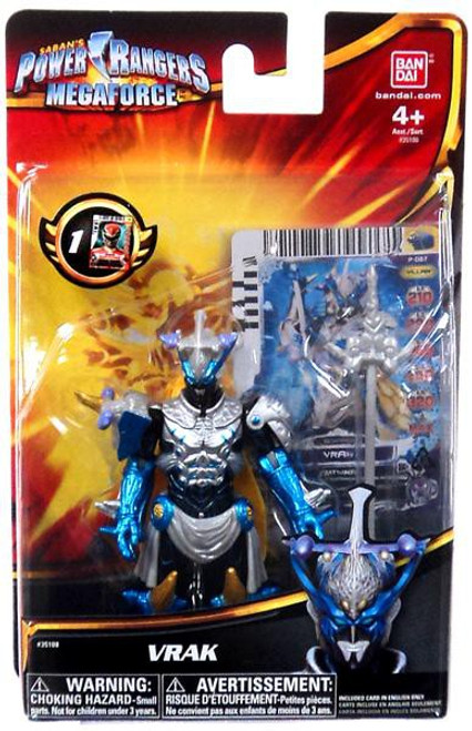 Power Rangers Megaforce Vrak Action Figure