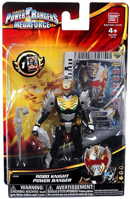 Power Rangers Megaforce Robo Knight Power Ranger Action Figure