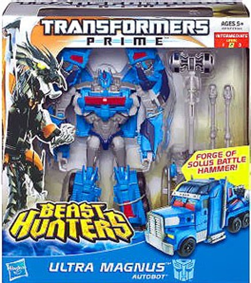 Transformers Prime Beast Hunters Ultra Magnus Voyager Action Figure