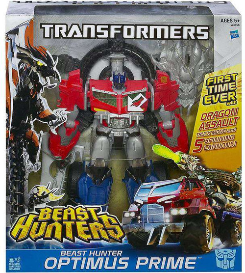 Transformers Beast Hunters Beast Hunter Optimus Prime Action Figure