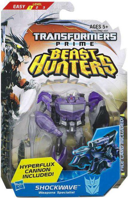 Transformers Prime Beast Hunters Commander Shockwave Commander Action Figure