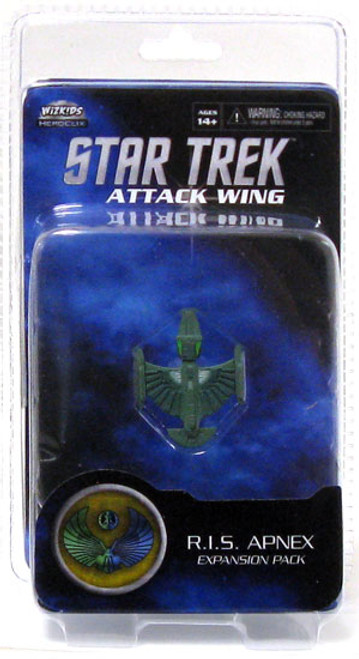 Star Trek Attack Wing Wave 0 Romulan R.I.S. Apnex Expansion Pack