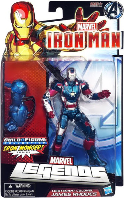Marvel Legends Iron Man 3 Series 2 Iron Patriot Action Figure