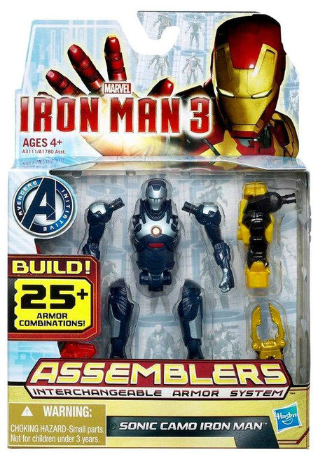 Iron Man 3 Assemblers Sonic Camo Iron Man Action Figure