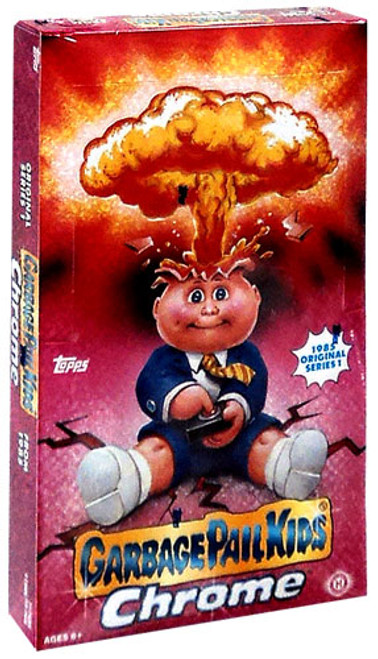 Garbage Pail Kids 2013 Chrome Trading Card Box [Hobby Edition]