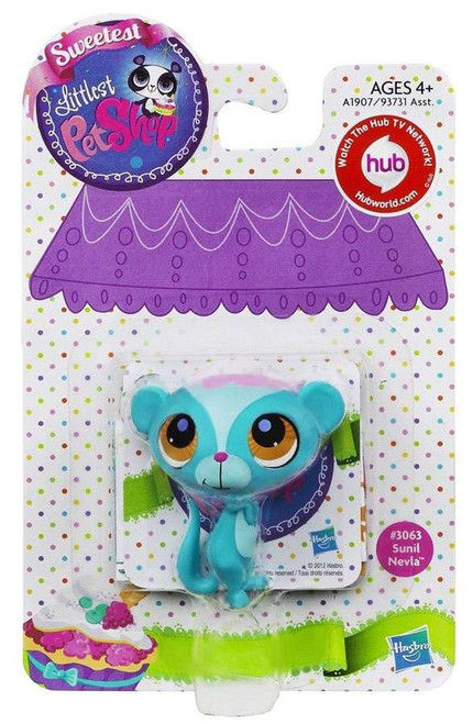 Littlest Pet Shop Sweetest Sunil Nevla Figure #3063 [Mongoose]