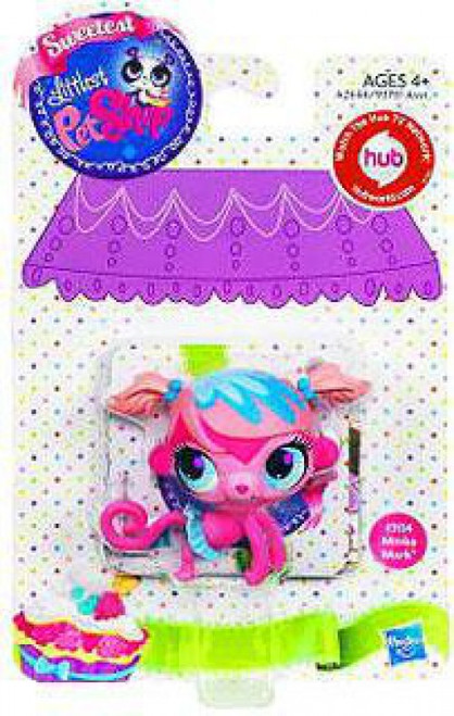 Littlest Pet Shop Sweetest Minka Mark Figure #3114 [Monkey]