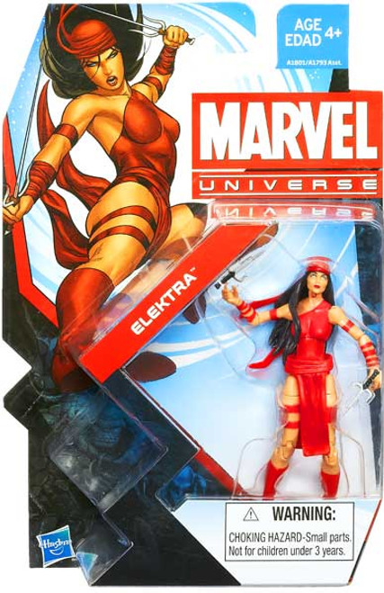 Marvel Universe Series 22 Elektra Action Figure #6