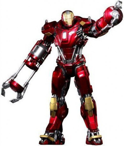Iron Man 3 Power Pose Iron Man Mark 35 Red Snapper 1/6 Collectible Figure