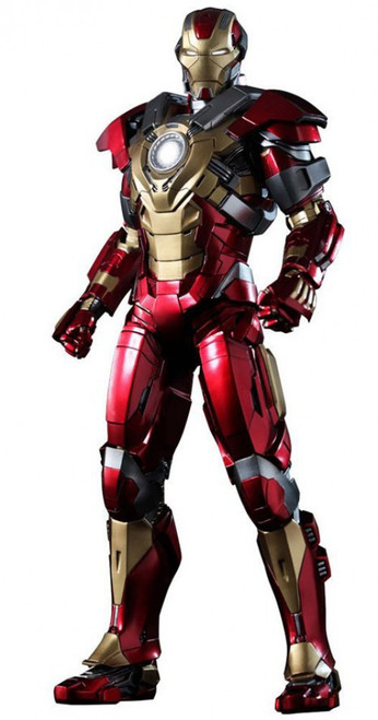 Iron Man 3 Movie Masterpiece Iron Man Mark 17 Heartbreaker 1/6 Collectible Figure