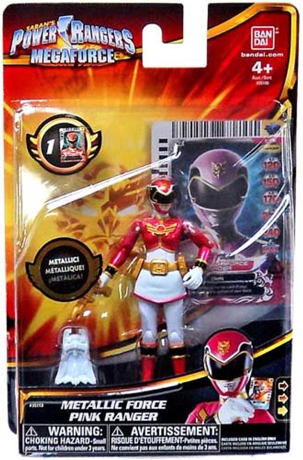 Power Rangers Megaforce Metallic Force Pink Ranger Action Figure