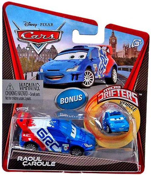 Disney Cars Micro Drifters Raoul Caroule Diecast Car [With Micro Drifter]
