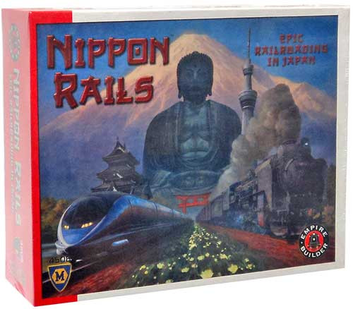 Empire Builder Nippon Rails Board Game