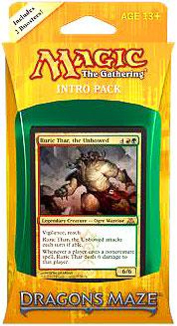 MtG Dragon's Maze Gruul Siege Intro Pack