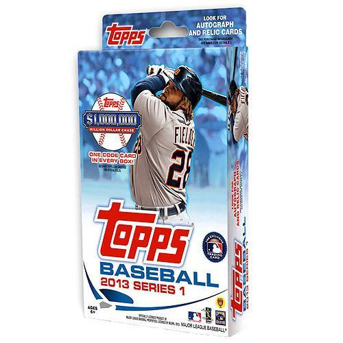 MLB 2013 Topps Series 1 Baseball Cards Hanger Box