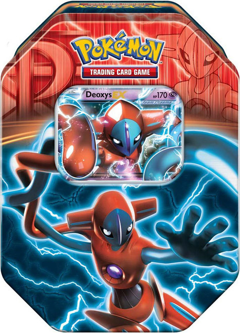 Pokemon Black & White Fall 2013 Team Plasma Deoxys EX Collector Tin