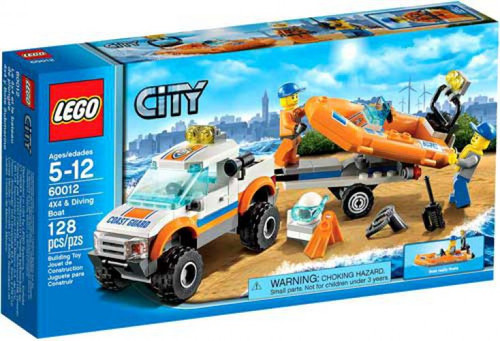 LEGO City 4x4 & Diving Boat Set #60012