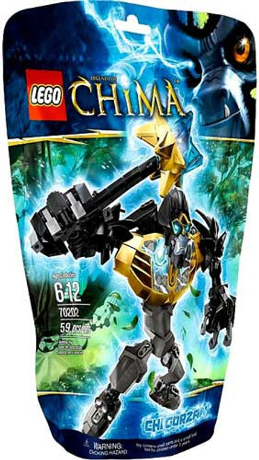 LEGO Legends of Chima CHI Gorzan Set #70202