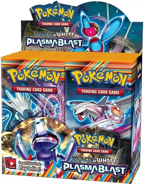 Pokemon Black & White Plasma Blast Booster Box [36 Packs] [Sealed]