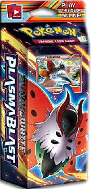 Pokemon Black & White Plasma Blast Solar Strike Theme Deck [Sealed Deck]