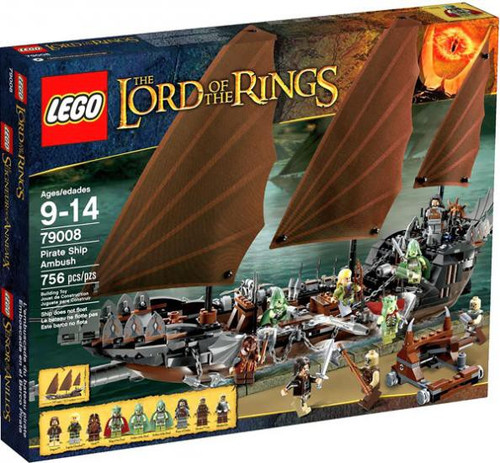 LEGO The Lord of the Rings Pirate Ship Ambush Set #79008