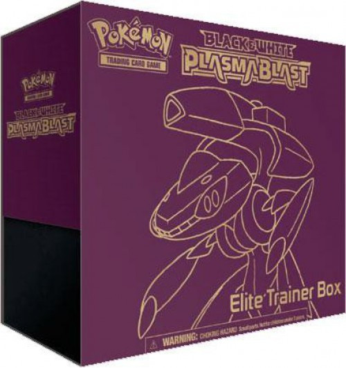 Pokemon Black & White Plasma Blast Elite Trainer Box [Genesect]