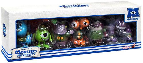 Disney Cosbaby Monsters University Set of 6 3-Inch Mini Figures